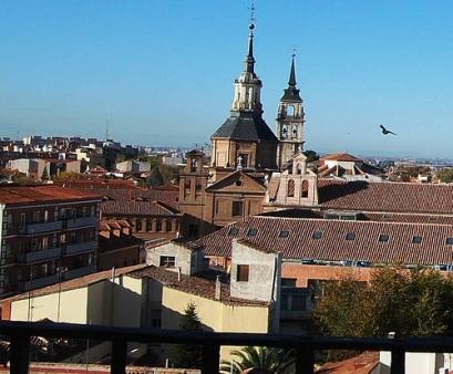 Vistas desde la Torre de Sta. María al Oeste.
